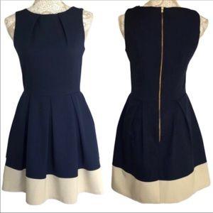Closet London ASOS Pocket Blue Skater Dress 12